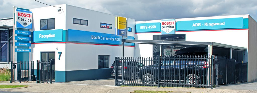 Cars About To Be Serviced At Bosch Car Service Ringwood